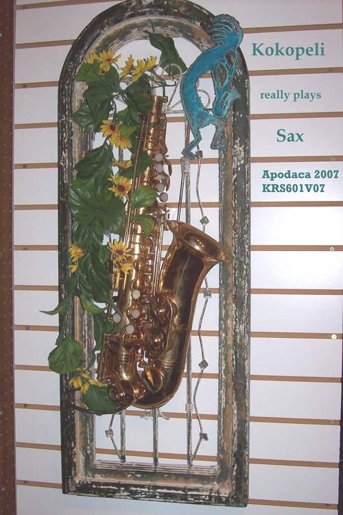 Kokopelli Really Plays Sax
